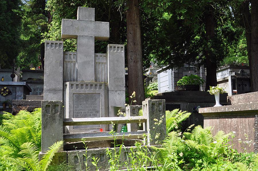 Grób lotników CK na cmentarzu komunalnym w Przemyślu - pilot Karl Palitschek von Palmforst i obserwator Istvan Dezsoffi _fot_g_karnas.jpeg