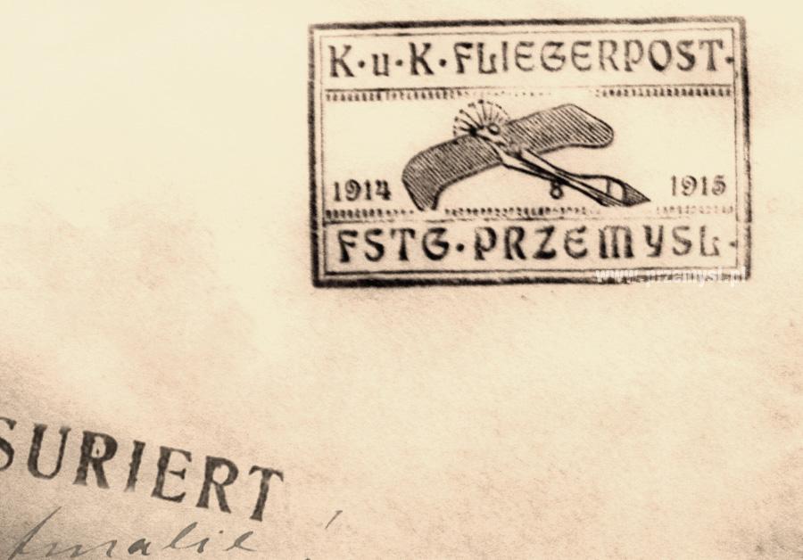 stempel poczty lotniczej - FLIEGERPOST PRZEMYSL.jpeg