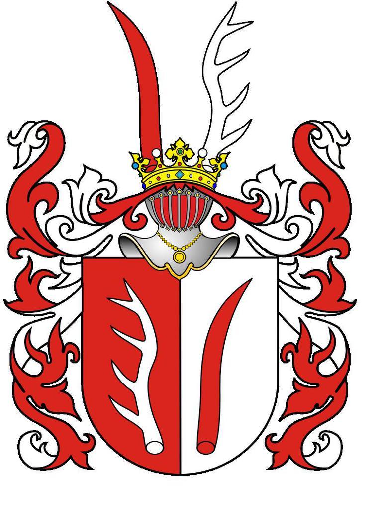 herb Rogala rodu Krasickich