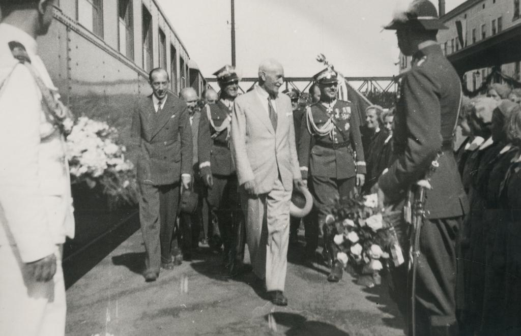 Wizyta prezydenta Ignacego Mościckiego w Przemyślu