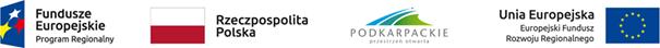 Loga: Fundusze Europejskie Program Regionalny, Rzeczpospolita Polska, Województwo Podkarpackie Przestrzeń Otwarta, Europejski Fundusz Rozwoju Regionalnego