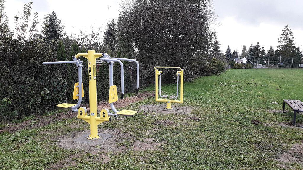 urządzenia siłowni na Lipowicy