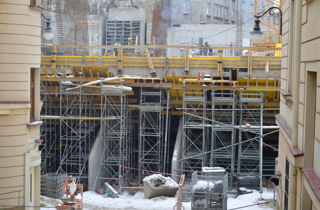 Plac budowy nowego budynku Sądu