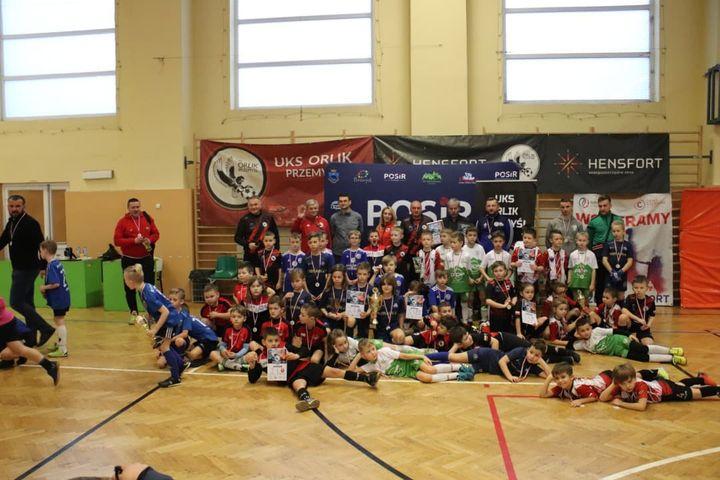 Wspólne zdjęcie uczestników turnieju
