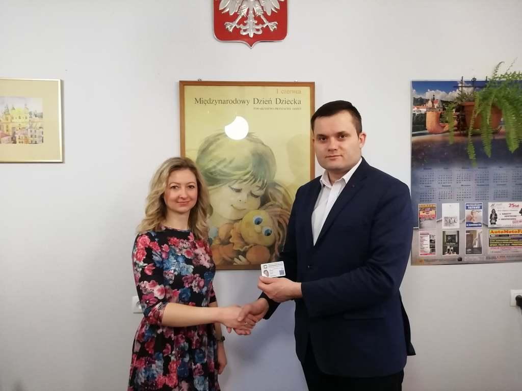 Zdjęcie nowego  Rzecznika Praw Dziecka TPD Wiktorii Chabko