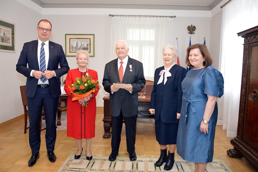 Pamiątkowe zdjęcie z Prezydentem Miasta