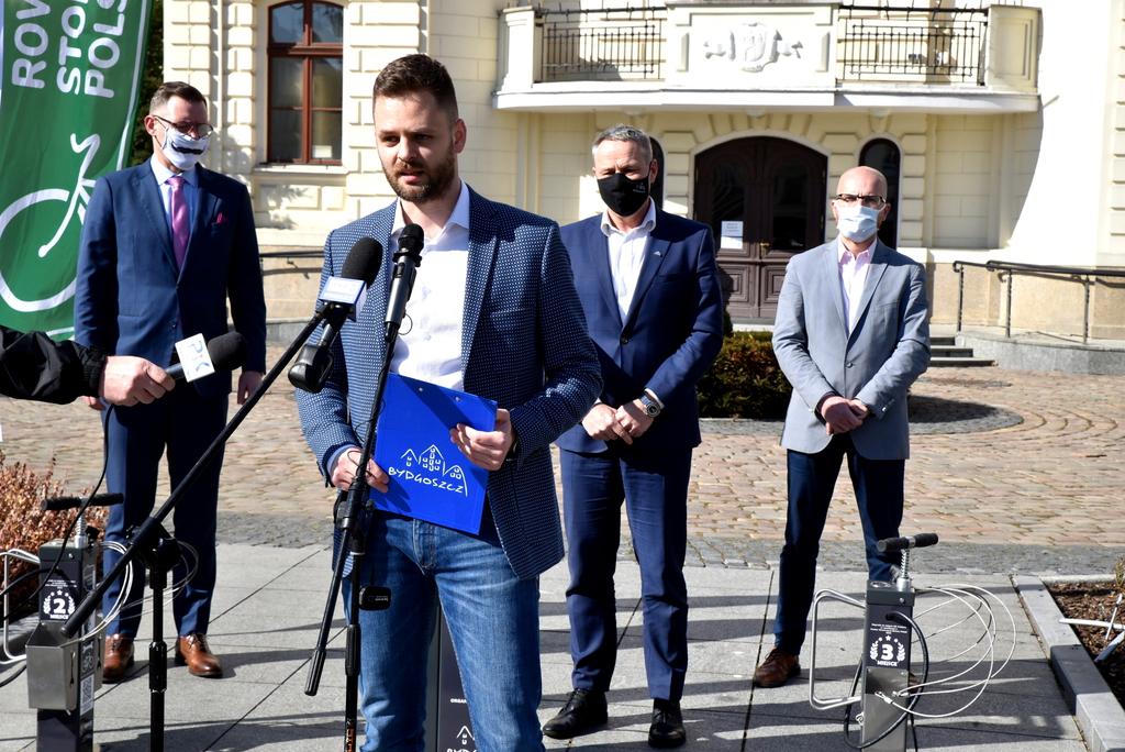 Wystąpienie Tomasza Dobrowolskiego koordynatora RSP