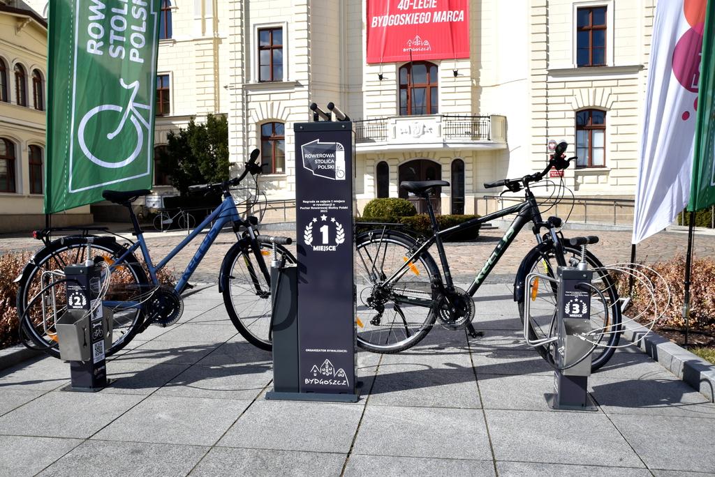 Rowery i stacje naprawcze - nagrody w tegorocznej rywalizacji miast