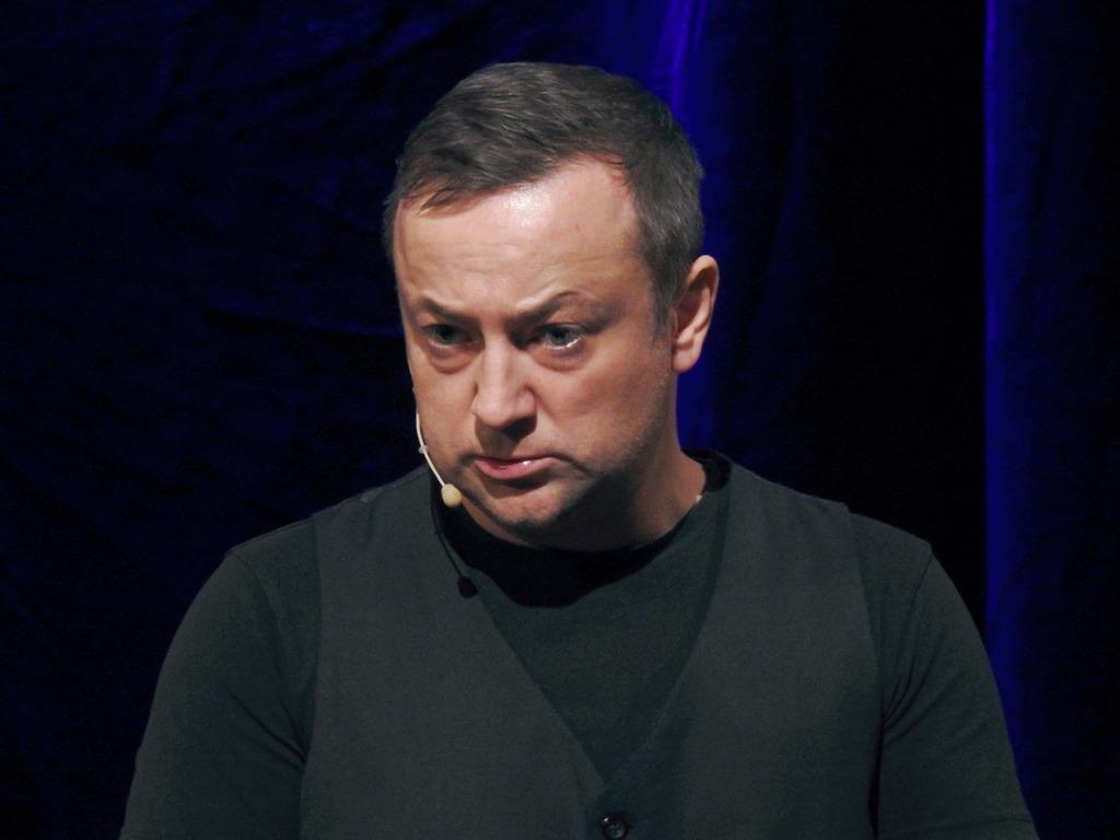 Czesław Mozil podczas występu