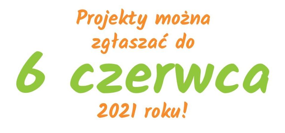 baner: projekty można zgłaszać do 6 czerwca 2021 r.