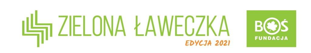 baner: zielona ławeczka 2021 zawierająca logo Banku Ochrony Środowiska