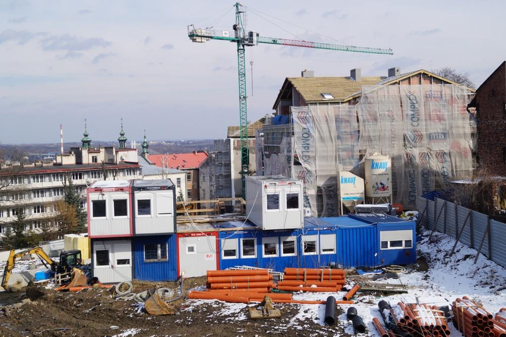 budowa sieci ciepłowniczej przy ul. Tatarskiej