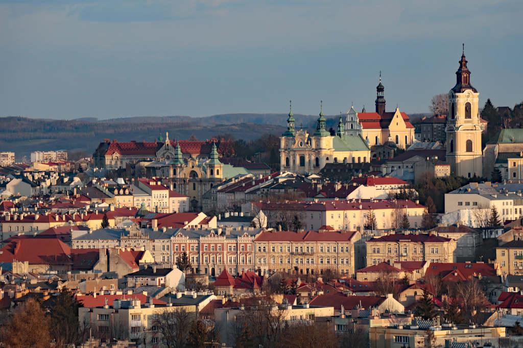 panorama Starego Miasta w Przemyślu