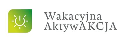 logo programu wakacyjna aktywacja