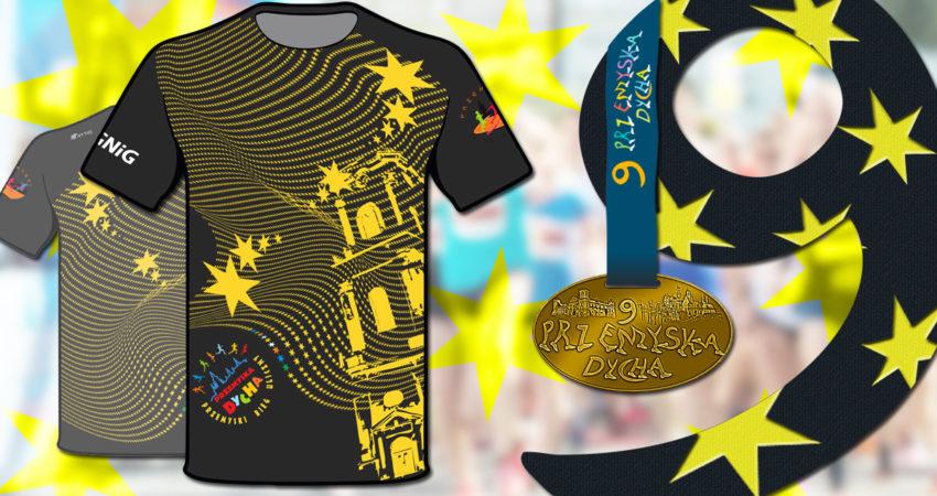 koszulki biegu i medale