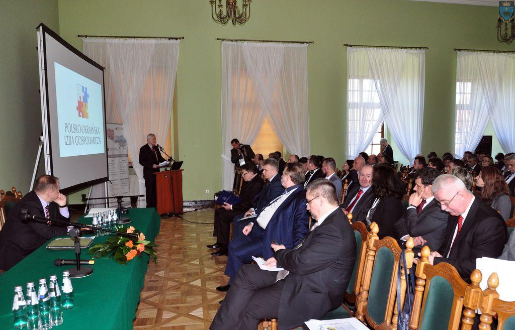 Trwa polsko - ukraińska konferencja w Krasiczynie.