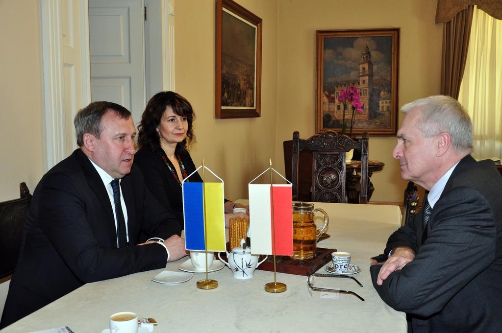 Nowy Ambasador Ukrainy z wizytą w Przemyślu
