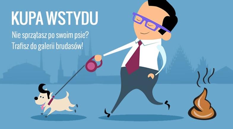 """Jak nie trafić do """"Galerii Brudasów?"""" - weź udział w akcji """"KUPA WSTYDU"""""""