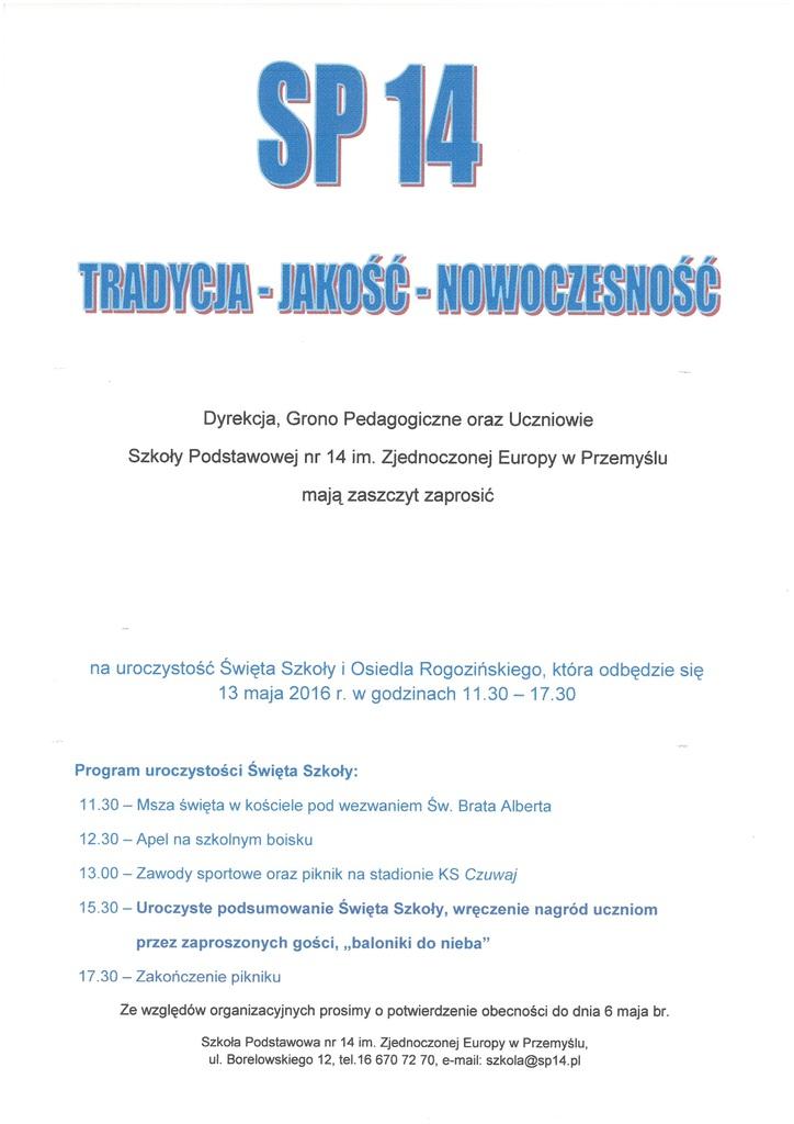 ZO Nr 8 Rogozińskiego - 13 maja 2016 r..jpeg