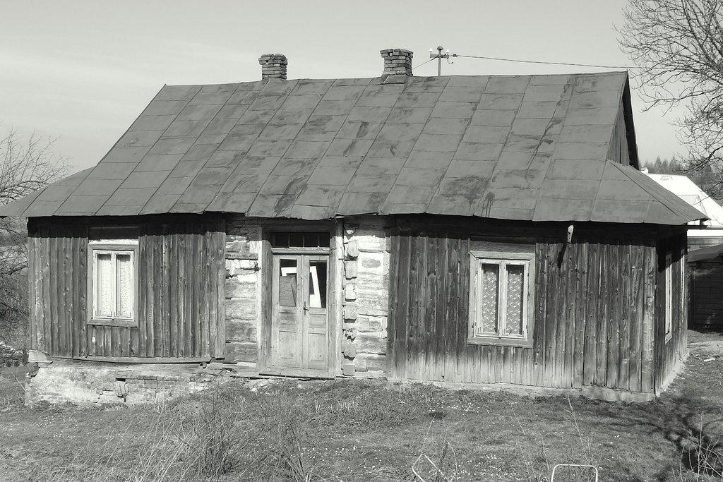 Stary dom na Zielonce. Fot.    Dariusz Hop.jpeg