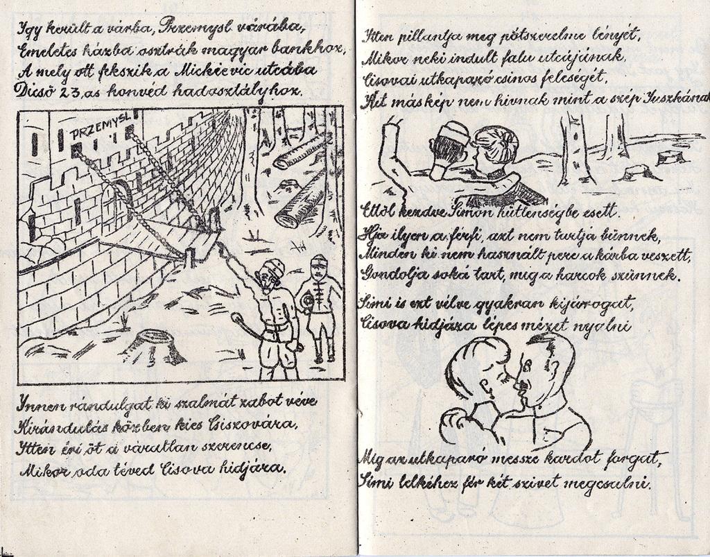 Gazetka satyryczna dla    żołnierzy węgierskich wydawana w przemyskiej twierdzy w czasie walk, wł.jpeg