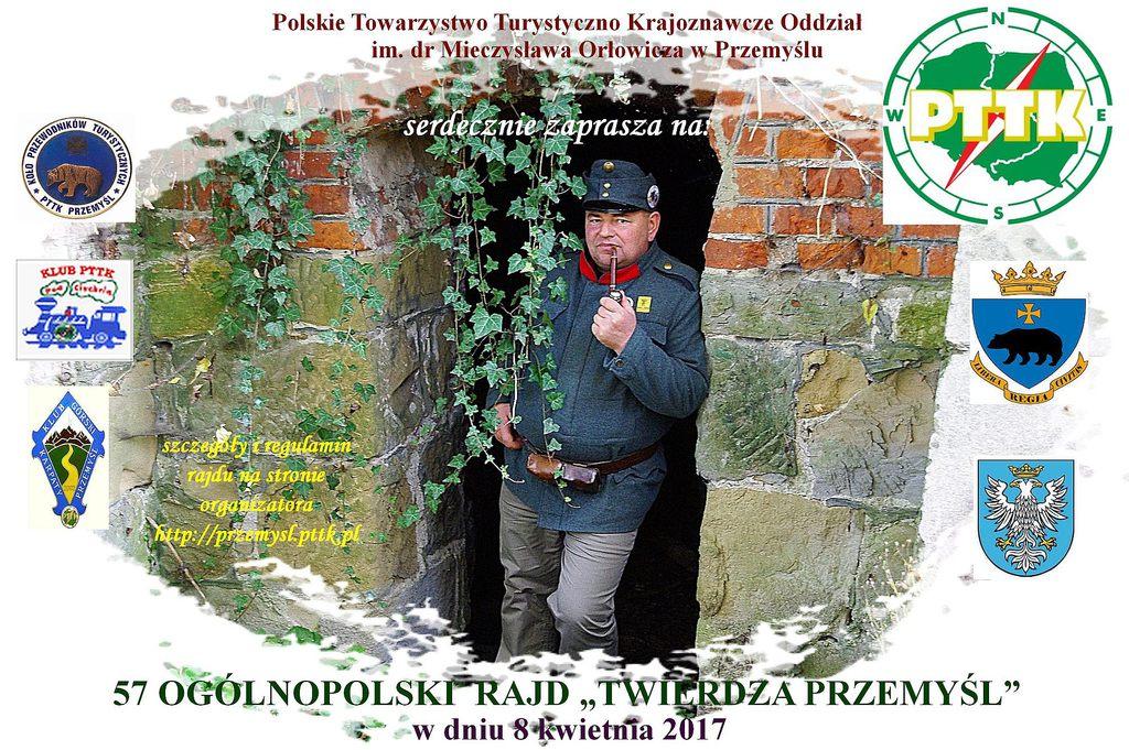 plakat Ogólnopolskiego Rajdu Twierdza Przemyśl.jpeg