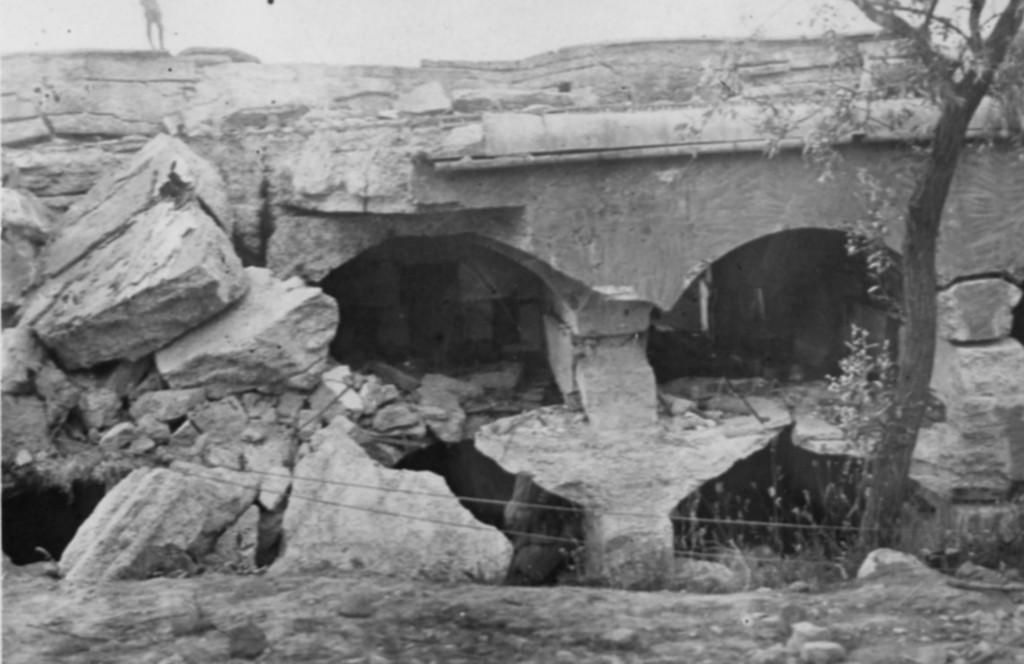 Zburzony fort IX, wł.MNZP
