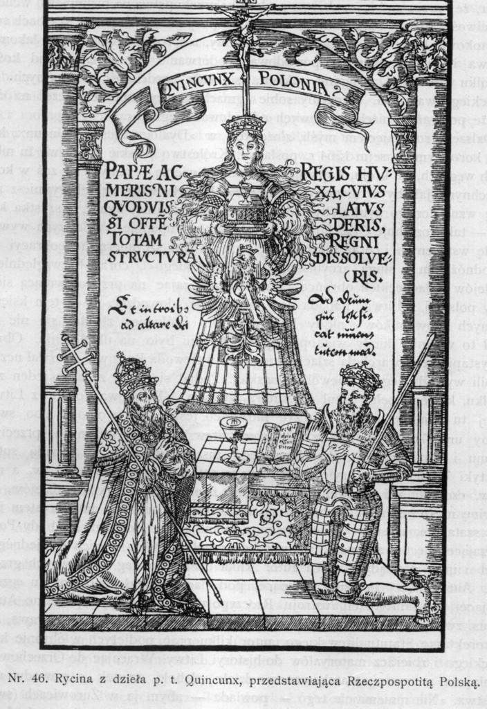 Rycina z dzieła pt. Quineunx, przedstawiająca Rzeczpospolitą Polską..jpeg
