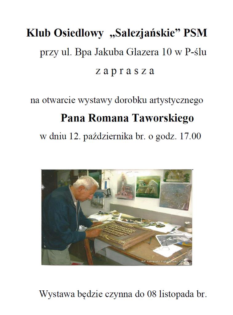Wystawa Romana Taworskiego.png