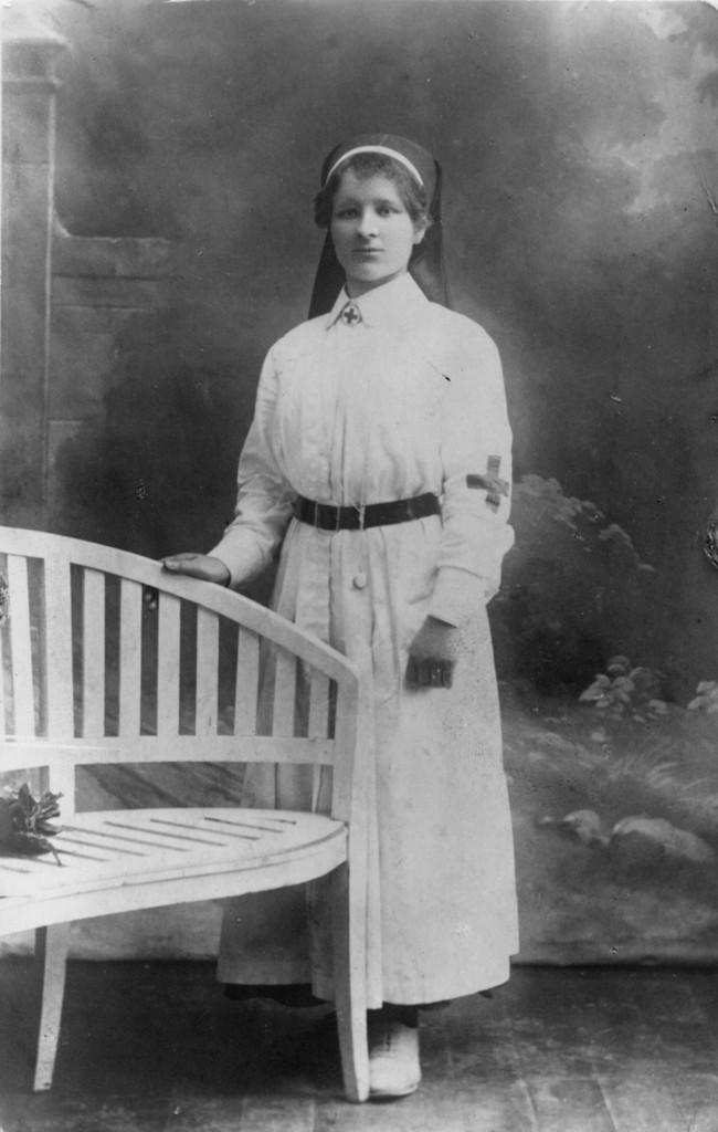 Irena Bentschówna – poległa pod Niżankowicami w dniu 13 XII 1918 r., fot. ze zbiorów MNZP