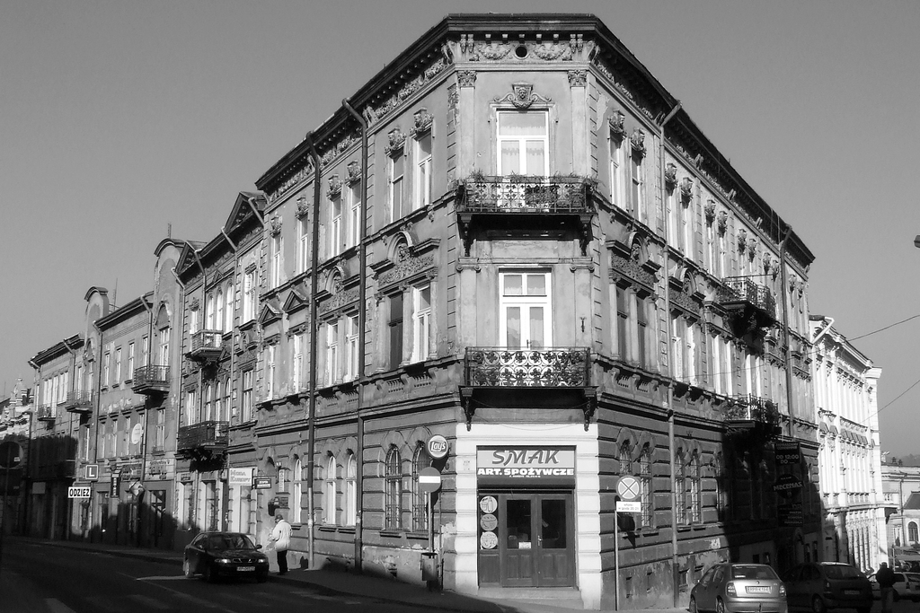 Fragment zabudowy ulicy Dworskiego. Fot. Dariusz Hop.jpeg