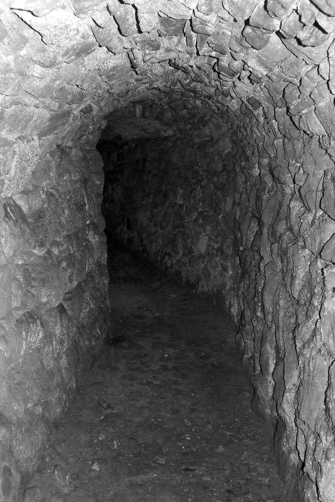 Wnętrze tunelu przed północną pierzeją przemyskiego Rynku. Fot. Dariusz Hop.jpeg