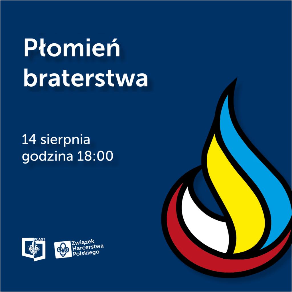 Płomień Braterstwa - logo akcji kwadrat.png