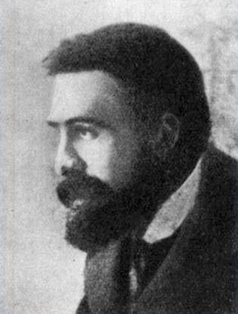 Józef Piłsudski, fot. Wykonana około 1905 r.