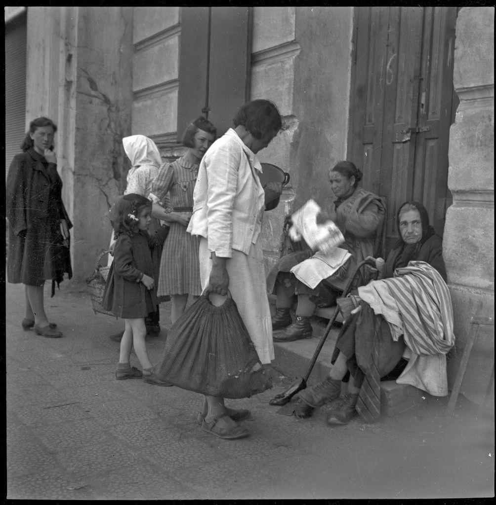 Scena uliczna w przemyskim Getcie, fot. ze zbiorów MNZP