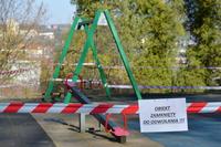 Galeria Koronawirus. Przemyskie place zabaw i siłownie zewnętrzne zostają zamknięte