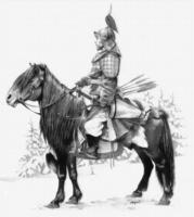 Mongolski wojownik na koniu, źródło: www.wayofwar