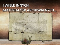 Galeria Czym zajmuje się archiwum - 20 kwietnia 2020 r.