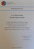 Galeria Do Wojewódzkiego Podkarpackiego Szpitala Psychiatrycznego w Żurawicy  trafił sprzęt ochrony osobistej. Prezydent Miasta przekazał maseczki, kombinezony ochronne i przyłbice