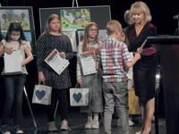 """Galeria Znamy laureatów konkursu plastycznego """"Zamek Kazimierzowski oczami dziecka"""""""
