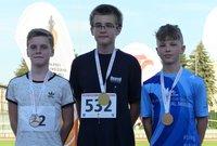 Galeria 7 medali przemyskich lekkoatletów na Mistrzostwach Podkarpacia Dzieci Starszych