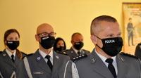 Galeria Święto przemyskich policjantów. Panie w mundurze z honorami...