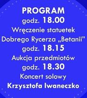 """Galeria I Lazarycka Gala Charytatywna. Gwiazdą – Krzysztof Iwaneczko. Wszystko na rzecz hospicjum """"Betania"""""""