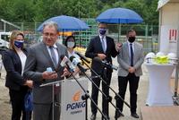Galeria Uroczyste wbicie łopaty pod budowę nowej elektrociepłowni PGNiG w Przemyślu