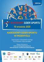 Galeria W zdrowym ciele zdrowy duch! Zapraszamy do wspólnego świętowania Narodowego Dnia Sportu