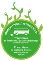 Galeria Świętujemy Europejski Dzień bez Samochodu. Kolejny raz pojedziemy autobusami bezpłatnie!