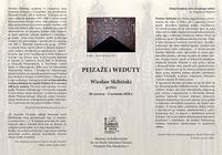 Galeria Pejzaże i weduty – grafiki Wiesława Skibińskiego w Muzeum Archidiecezjalnym w Przemyślu