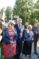 Galeria TPPiR przekazało pod opiekę przemyskich harcerzy odrestaurowany nagrobek ppłka Zygmunta Bartmańskiego