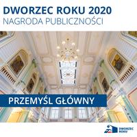 Galeria Przemyśl Główny z nagrodą publiczności w konkursie Dworzec Roku 2020!