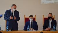Wystąpienie marszałka województwa Piotra Pilcha